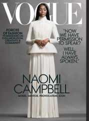 Vogue Magazine Subscription November 1st, 2020 Issue