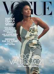 Vogue Magazine Subscription January 1st, 2021 Issue