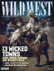 Wild West Magazine Subscription August 1st, 2020 Issue