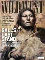 Wild West Magazine Subscription June 1st, 2021 Issue