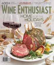 Wine Enthusiast Magazine Subscription December 1st, 2020 Issue