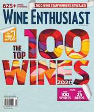 Wine Enthusiast Magazine Subscription December 15th, 2020 Issue