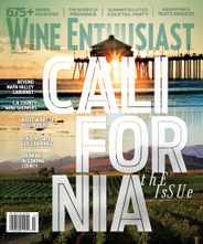 Wine Enthusiast Magazine Subscription June 1st, 2021 Issue