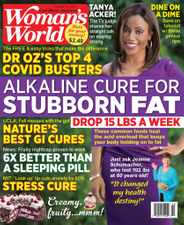 Woman's World Magazine Subscription October 19th, 2020 Issue