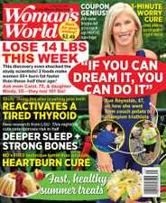 Woman's World Magazine Subscription August 2nd, 2021 Issue