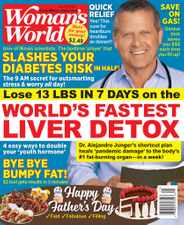 Woman's World Magazine Subscription June 21st, 2021 Issue