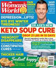 Woman's World Magazine Subscription March 8th, 2021 Issue