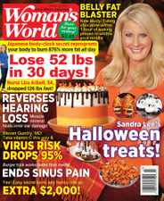 Woman's World Magazine Subscription October 25th, 2021 Issue