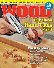 Wood Magazine Subscription November 1st, 2021 Issue