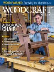 Woodcraft Magazine Subscription June 1st, 2021 Issue