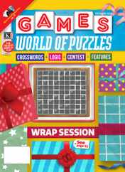 Games World of Puzzles Magazine Subscription December 1st, 2020 Issue