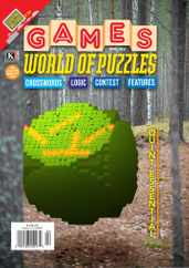 Games World of Puzzles Magazine Subscription April 1st, 2021 Issue