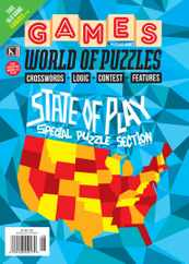 Games World of Puzzles Magazine Subscription August 1st, 2021 Issue