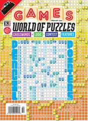 Games World of Puzzles Magazine Subscription February 1st, 2021 Issue
