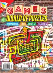 Games World of Puzzles Magazine Subscription January 1st, 2021 Issue