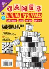 Games World of Puzzles Magazine Subscription June 1st, 2021 Issue