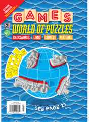 Games World of Puzzles Magazine Subscription May 1st, 2021 Issue