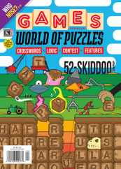 Games World of Puzzles Magazine Subscription September 1st, 2021 Issue