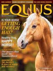 Equus Magazine Subscription August 20th, 2021 Issue