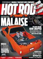 Hot Rod Magazine Subscription April 1st, 2021 Issue