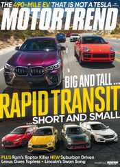 Motor Trend Magazine Subscription November 1st, 2020 Issue