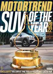 Motor Trend Magazine Subscription December 1st, 2021 Issue