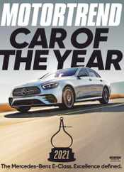 Motor Trend Magazine Subscription January 1st, 2021 Issue