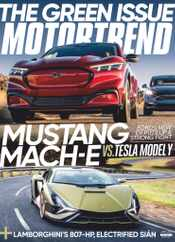 Motor Trend Magazine Subscription June 1st, 2021 Issue