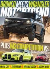 Motor Trend Magazine Subscription November 1st, 2021 Issue