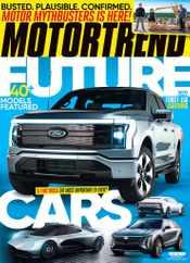 Motor Trend Magazine Subscription September 1st, 2021 Issue
