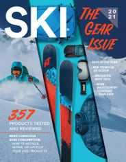 SKI Magazine Subscription October 1st, 2020 Issue