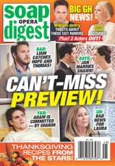Soap Opera Digest Magazine Subscription November 30th, 2020 Issue
