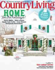 Country Living Magazine Subscription December 1st, 2020 Issue