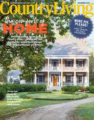 Country Living Magazine Subscription November 1st, 2020 Issue