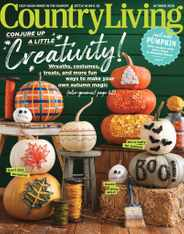 Country Living Magazine Subscription October 1st, 2020 Issue