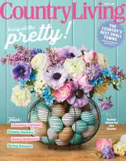 Country Living Magazine Subscription April 1st, 2021 Issue