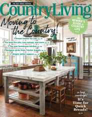 Country Living Magazine Subscription January 1st, 2021 Issue