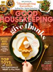 Good Housekeeping Magazine Subscription November 1st, 2020 Issue