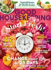 Good Housekeeping Magazine Subscription January 1st, 2021 Issue