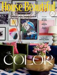 House Beautiful Magazine Subscription April 1st, 2021 Issue