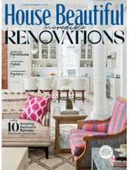 House Beautiful Magazine Subscription February 1st, 2021 Issue