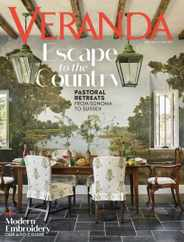 Veranda Magazine Subscription September 1st, 2020 Issue