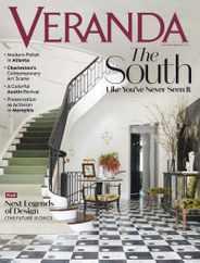 Veranda Magazine Subscription January 1st, 2021 Issue