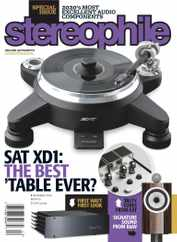 Stereophile Magazine Subscription December 1st, 2020 Issue