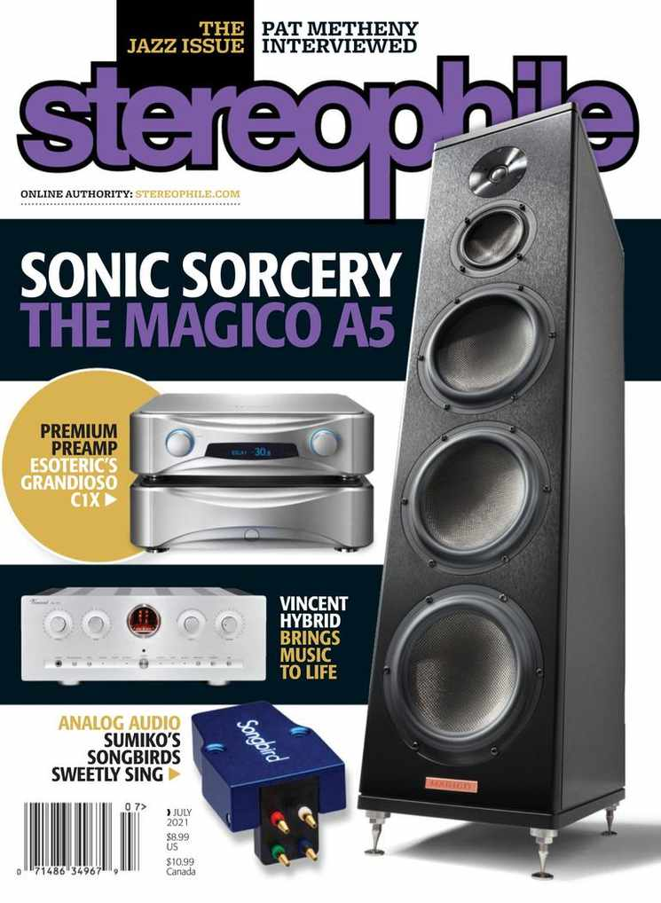 1-Year (12 Issues) of Stereophile Magazine Subscription