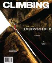Climbing Magazine Subscription February 9th, 2021 Issue