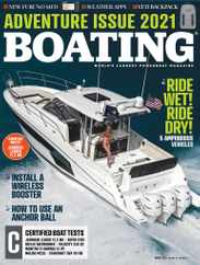 Boating Magazine Subscription March 1st, 2021 Issue