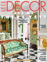 Elle Decor Magazine Subscription December 1st, 2020 Issue