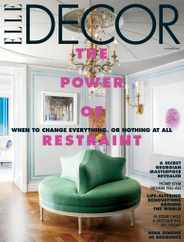 Elle Decor Magazine Subscription October 1st, 2020 Issue