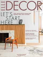 Elle Decor Magazine Subscription January 1st, 2021 Issue